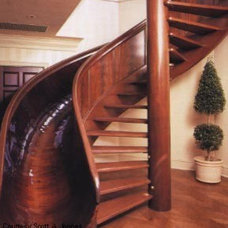 Modern Staircase Slide or Stairs?