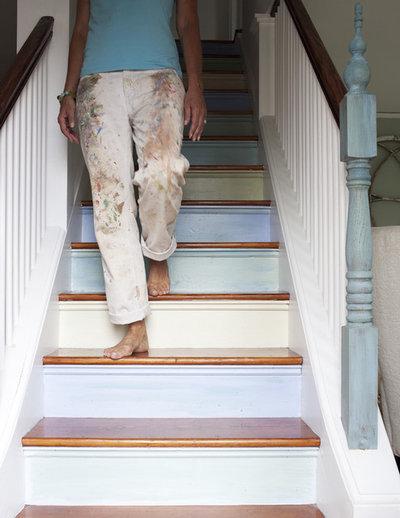 Классический Лестница by Lisa Teague Design Studios