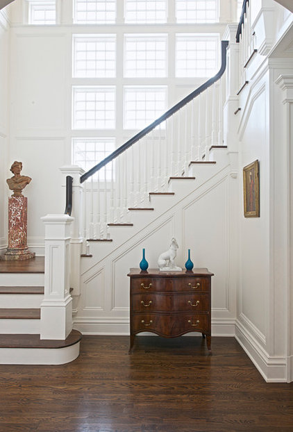 Traditional Staircase by Country Club Homes