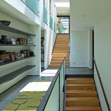 Contemporary Staircase by David Agnello Photography
