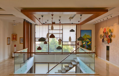 Delhi Houzz: This Multigenerational Bungalow is a Zen Urban Oasis