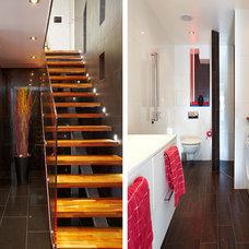 Modern Staircase Södermalm Island Loft