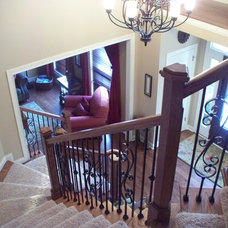 Traditional Staircase by A Step Above Flooring & Installation, Inc.