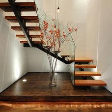 Industrial Staircase by Raad Studio
