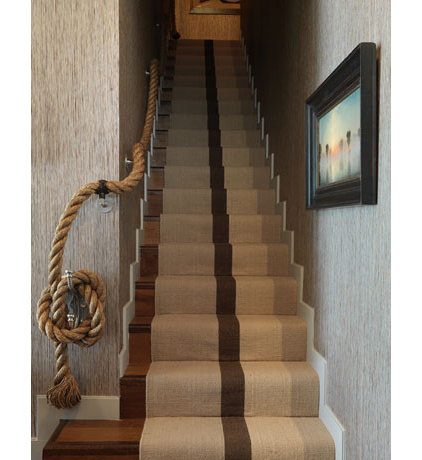 Eclectic Staircase by Thom Filicia Inc.