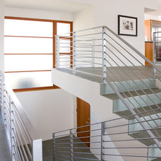 Modern Staircase by Friehauf Architects Inc.