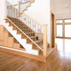 Traditional Staircase by RD Architecture, LLC