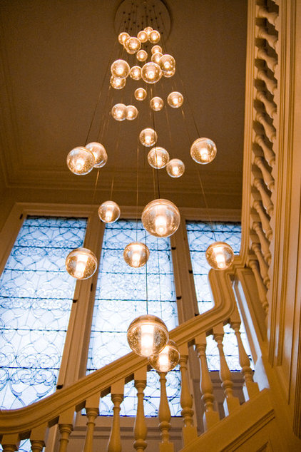 Eclectic Staircase by Soledad Alzaga