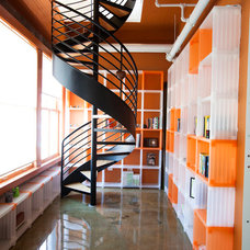 Industrial Staircase by Because We Can