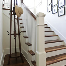 Beach Style Staircase by Margaret Donaldson Interiors