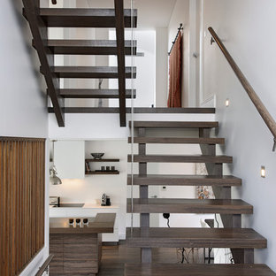 Staircase - contemporary staircase idea in Sydney