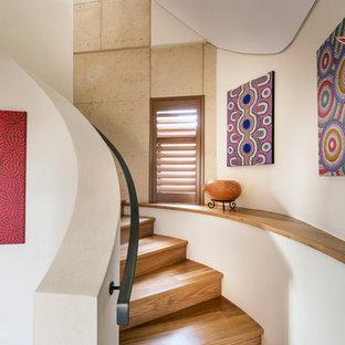 Design ideas for a contemporary staircase in Perth.