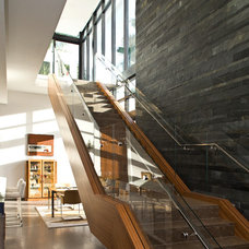 Contemporary Staircase by KZ Architecture