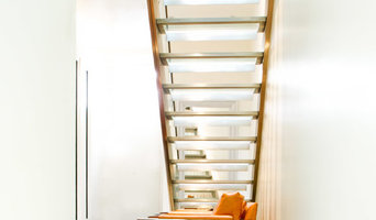 South Kensington Mews House - Glass & Stainless Steel Staircases with LED lights