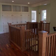 Craftsman Staircase by Kari Architect