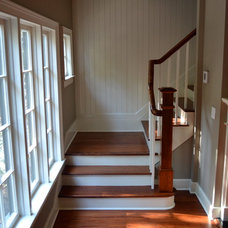 Traditional Staircase by Gochnauer Construction