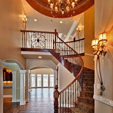 Traditional Staircase by Southampton Builders