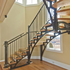 Industrial Staircase by Robb Construction Company