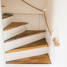Beach Style Staircase by allee architecture + design, llc
