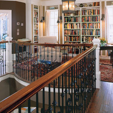 Traditional Staircase by Margaret Donaldson Interiors