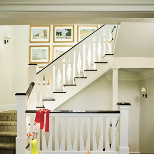 This is an example of a classic staircase in Birmingham.