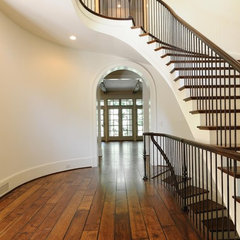 contemporary staircase by Southern Staircase Co.