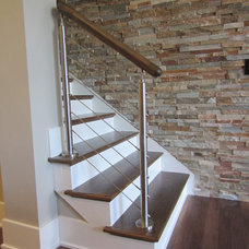 Modern Staircase by Southern Staircase