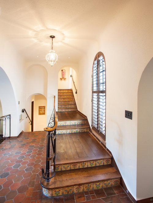 Mediterranean Staircase Tower : Styles of stairs houzz