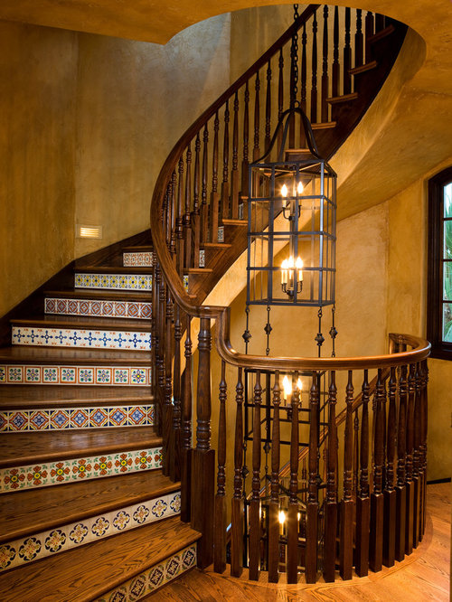 Porcelain Tile Stair Treads Houzz