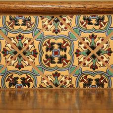 Mediterranean Staircase by Jackson Design & Remodeling