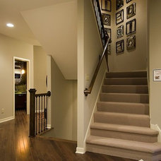 Contemporary Staircase by Jaque Bethke for PURE Design Environments Inc.