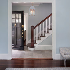 Traditional Staircase by Digs Design Company