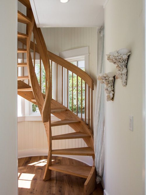 Small space staircase design ideas renovations photos - Small space staircase image ...