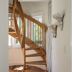 traditional staircase by CFH Design Studio