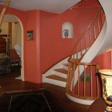 Traditional Staircase by Perkins Smith Design Build
