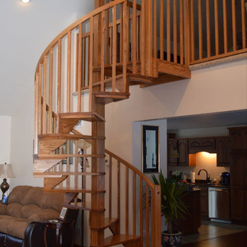 Spiral Stair - Traditional Style Kit