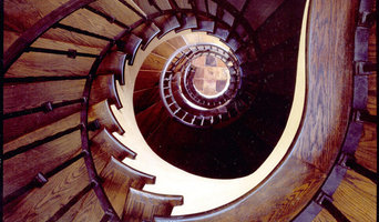 Spiral Staircase in Tuscan Villa