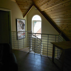 Contemporary Staircase by Staircase and Railing Store