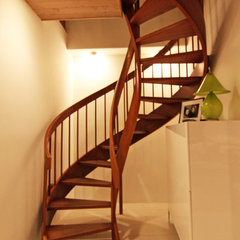 contemporary staircase by Shelley Gardea