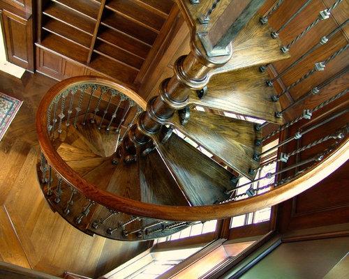 Victorian Dallas Staircase Design Ideas Remodels Photos