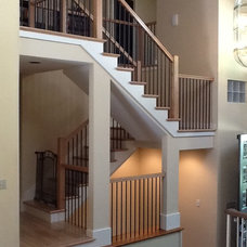 Contemporary Staircase by Portland Stair Company
