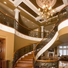 Mediterranean Staircase by Southeastern Stair & Millwork