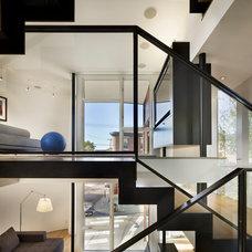 Modern Staircase by McCoubrey/Overholser, Inc.