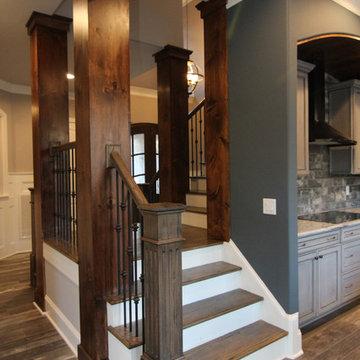 Split Staircase Design Ideas