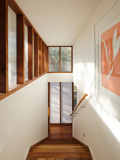 Contemporary Staircase by Bark Design Architects