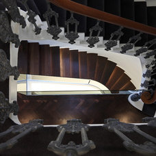 Contemporary Staircase by sporadicSPACE