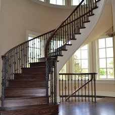 Traditional Staircase by James McDonald Associate Architects, PC