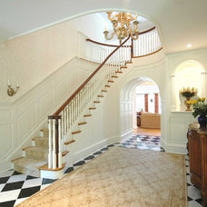 Traditional Staircase by Cusano Associates Architecture + design