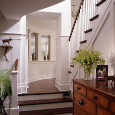 Traditional Staircase by Culligan Abraham Architecture