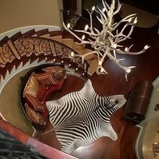 Eclectic Staircase by Sweetlake Interior Design LLC